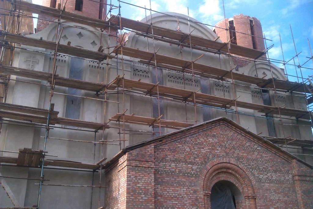 Строительство Храма Торжества Православия