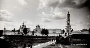 г. Тотьма. Спасо-Суморин монастырь. Фото нач. XX века