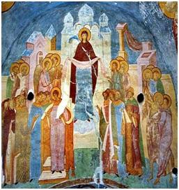 Икона Божией Матери Покров